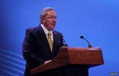 Raúl Castro inaugura la cumbre de la CELAC