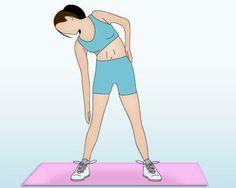 EXERCICE VENTRE PLAT /flexion du buste