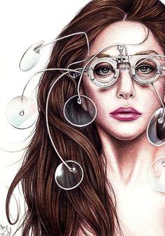 Lady GaGa - TechHAUS by DendaReloaded on deviantART #CelebrityArt #Art #LadyGaga