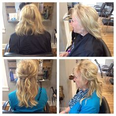 Highlights, lowlights, blonde, @kenra color, DreamCatcher hair extensions, @btcmag