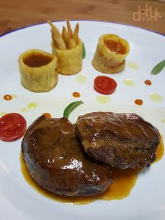 My Favorite Food, Favorite Recipes, Food Decoration, Flan, Pork Recipes, Poultry, Tapas, Catering, Food To Make