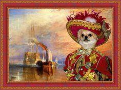 Chihuahua Art/Chihuahua Canvas Print/Fine Artwork/Dog Portrait/Dog Painting/Dog Art/Dog Print/Custom Dog Art By Nobility Dogs  #DogArt #DogPortrait #CustomDogArt #DogLover #NobilityDogs #DogPrint #CustomDogPortrait #chihuahua #ChihuahuaArt #ChihuahuaGift