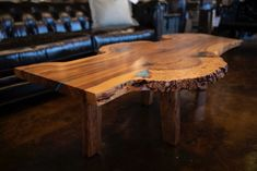 True beauty in this Elm Slab from a local Artist!