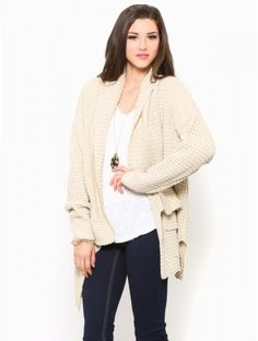 Relaxed Knit #Cardigan