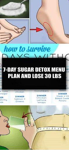 Lose 30 lbs with This 7-Day Sugar Detox Menu Plan!