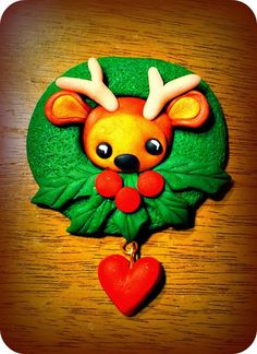 ...Make It With Me: A Christmas Deer Brooch