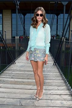 July 25, 2012 Olivia Palermo attends the Intimissimi Fall/Winter 2013 Fashion Show in Italy.