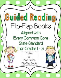 Do you want to FRESHEN UP your Guided Reading Group Lessons?  This unit will do the trick!  Guided Reading Flip-Flap Books aligned to the CCSS for Grades 1-3.  Check it out...and download the preview for a closer look! $