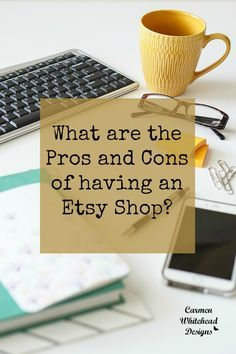 are the Pros and Cons of having an Etsy Shop? What are the Pros and Cons of having an Etsy Shop? - Carmen Whitehead DesignsWhat are the Pros and Cons of having an Etsy Shop? Craft Business, Business Tips, Online Business, Creative Business, Starting An Etsy Business, Opening An Etsy Shop, Shop Price, Selling Art, Selling Crafts