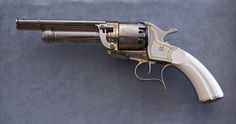 """The LeMat Revolver was also known as the """"grapeshot revolver,"""" as it could…"""