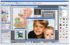 PCStitch: Premier Cross Stitch Software, This is the software I use to make custom cross stitch and custom flat crochet patterns Cross Stitch Pattern Maker, Cross Stitch Fabric, Cross Stitching, Cross Stitch Embroidery, Hand Embroidery, Counted Cross Stitch Patterns, Cross Stitch Charts, Cross Stitch Designs, Cross Stitch Software
