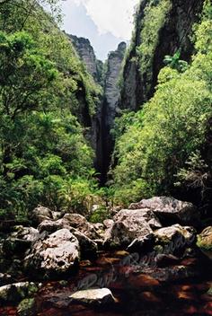 Canyon Morro do Chapeu-Itaete
