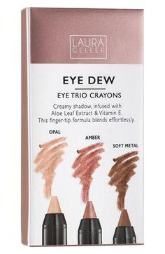 Laura Geller Beauty 'Eye Dew' Cream Eyeshadow Crayon Trio ($48 Value) | Nordstrom