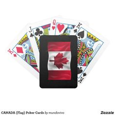 CANADA (Flag) Poker Cards