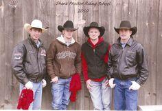 JB Mauney, Travis Briscoe, Ryan McConnel, Shane Proctor...  Some of my very favorite bull riders...