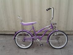 fun time on a bike like this! Mine was pink and I got it for being brave when they put my stitches in--because we had glass screen doors!!