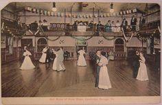 1909 Cambridge Springs Pennsylvania The Ball Room at the Hotel Rider