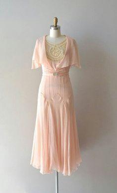 1920's. I love love love this vintage dress!