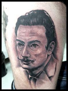 #tattoo #edsonbiscaia #ink #dali #tatuagem #art
