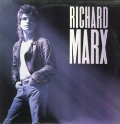 "Richard Marx, Richard Marx****: This is a surprisingly very enjoyable album full of strong songwriting and some really killer tracks. It suffers just a bit from the cliche 80s production standards that run throughout the album. Still, ""Should've Known Better,"" ""Don't Mean Nothing,"" ""Endless Summer Nights,"" and ""Hold on to the Nights"" are all toe-tappers. And you know that when you hear them here and there, you sing along. They were that good. 4/21/16"