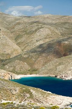Beach in Tilos island, Greece. - Selected by www.oiamansion.com