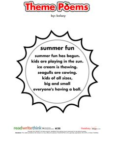 1000 Images About Summer Learning From ReadWriteThinkorg On