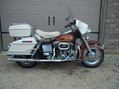 1976 Harley FLH Amf Harley, Motorcycle Museum, Old Motorcycles, Custom Choppers, Electra Glide, Baggers, Street Glide, Classic Bikes, Sidecar