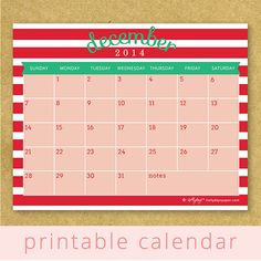 We have a very busy December and this is a cute and helpful tool to pin to the fridge.