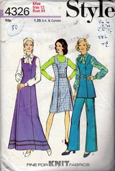 STYLE LADIES SKIRT SEWING PATTERN SIZE 18 - 28 UNCUT