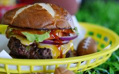 Whether you're tailgating or having a group over, game day wouldn't be complete with out the perfect burger. Burgers are all about layers, starting with the bun. In this round-up, I have included an easy recipe to make your own pretzel buns, which are all the rage right now! Why should you have to go to a [...]