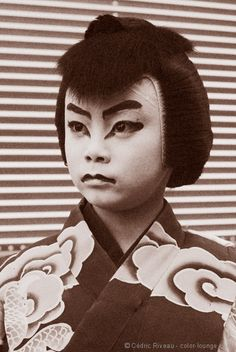 Child Kabuki actor