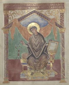 Gallica BNF Psautier de Charles le Chauve, 9e siècle