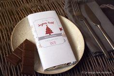 Tablette de chocolat personnalisée à offrir à vos proches moment gourmand texte à personnaliser cadeaux convives sur votre table de la boutique Letempsdesconfettis sur Etsy