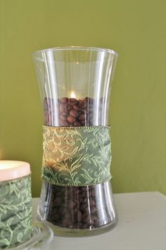 Sister See Sister Do: Coffee Bean Candle - A Dollar Store Craft