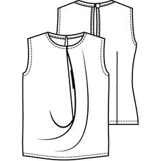 Top met draperie (PDF) - Vrouw - Shop  Knipmode November 2012