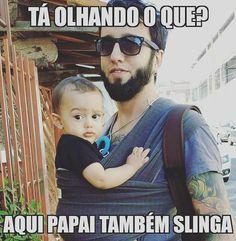 #paitambemslinga #paitambrmcuida #paislingueiro #colodeamor #colodepai #paternidade #paiquefaz
