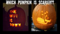 Online marketers, do you agree that these are two very scary pumpkins..