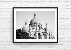 Paris Wall Decor, Travel Wall Art, Paris Photography, Paris Photos, Printing Services, Printable Wall Art, Black And White, Landscape, Digital