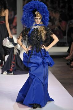 Christian Lacroix at Couture Fall 2007