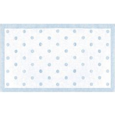 Polka Dot Rug in Blue by Rug Market ($170) ❤ liked on Polyvore