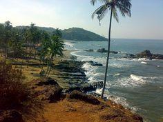Vagatore Beach Cliffs, Goa