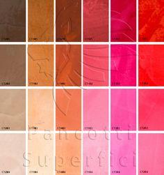 I Colori della Terra | Pancotti Superfici 2013