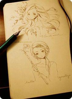 Dibujos y bocetos