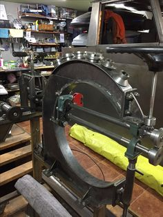 Metal shaping tools Зиговка (зиг машина) интегрированаяв скобу английского колеса