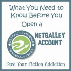 What You Need to Know Before You Open a NetGalley Account | Feed Your Fiction Addiction | Bloglovin'