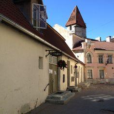 Por las calles de Tallin
