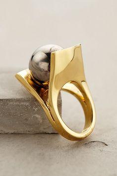 Deco Pinball Ring #anthrofave
