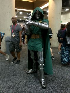 Female Dr. Doom Cosplay | Cosplay – Doctor Doom by Kyle Hill
