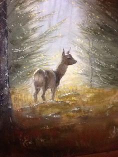 Detalj av maleriet.