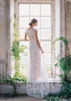 Cheyenne Wedding Dress Romantique by Claire Pettibone